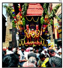 Someshwara Temple car procession