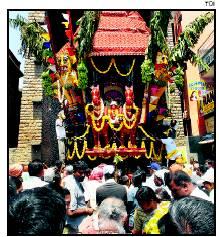 Someshwara Temple car procession