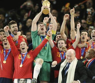 Spain Won FIFA World Cup 2010 Final