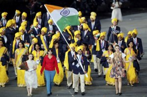 Indian contingent in London Olympics 2012