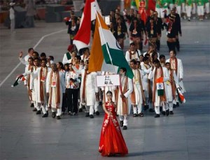 Indian Team in the Beijing Olympics 2008