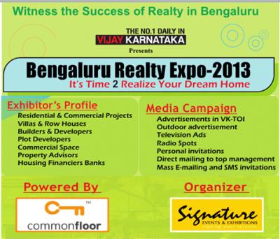 Realty Expo 2013, Bangalore